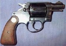 A revolver.