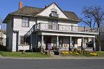 "The ""Burroughs Home"" history museum in Ritzville, Washington State"